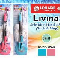 livina spin mop handle set