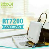 Powerbank Robot RT7200 6600mah by VIVAN