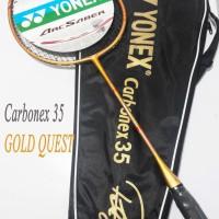 Raket Badminton Yonex Carbonex 35 Extended GOLD QUEST Edition Murah