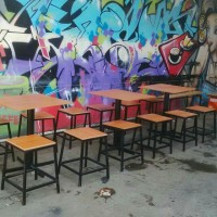 meja lipat / meja cafe / meja makan / meja warung / meja restaurant