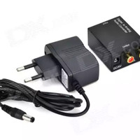 CONVERTER AUDIO DIGITAL TO ANALOG (OPTICAL / COAXIAL / SPDIF TO RCA)