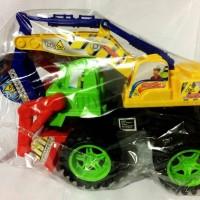Mainan mobil beko excavator