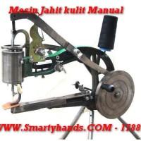 Mesin jahit manual untuk kulit dan reparasi sepatu ( tanpa listrik )