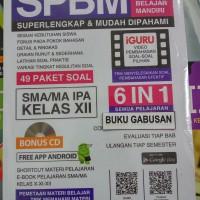 BUKU SPBM SUPERLENGKAP MUDAH DIPAHAMI 6IN1 SMA/MA IPA KELAS XII CD hn