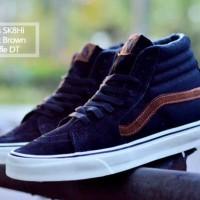 sepatu pria vans sk8 high best quality original premium 40-44 navy