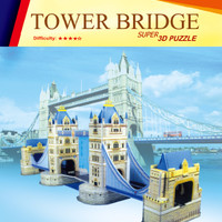 Jual Mainan Edukatif 3D Puzzle Bangunan Sejarah , Funny, PROMO! Murah
