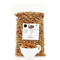 Jual Roasted Natural Whole Raw Almond ( Kacang Almond Panggang ) 1000 gr Murah