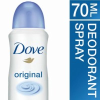 DOVE DEODORANT SPRAY ORIGINAL 70ML