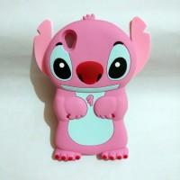 Oppo Neo 9 A37 Silicon 3D Kartun Disney Stitch #4 Softcase Casing Hp