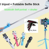 selfie stick wxy - 01 for Android ios 3in1 tongsis lipat tripod tomsis