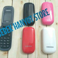 Casing/Kesing Handphone Samsung Caramel(E1272)Fullset Lipat/Full Set