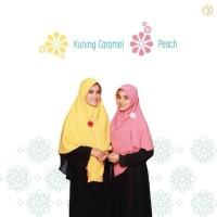 Jilbab Bergo Semi Instan Bolak Balik Polos Hijab Alsa 03 size L