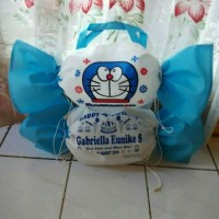 Jual Goodie bag tas souvenir ulang tahun/ultah anak model permen Murah