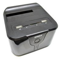 Kimax Docking Harddisk Wifi HHD 2.5 3.5 SATA III Card R Berkualitas