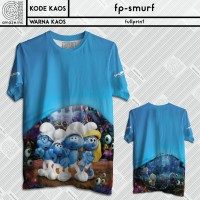 harga Kaos Fullprint Anak The Smurf 3d Keren Lucu Unik Cute Tokopedia.com