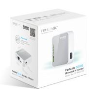 TP LINK MR3020 Wifi Router (USB Modem Bisa 3G, 4G LTE / Evdo, Speedy)