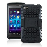 Bumper Armor Heavy Slim Hard Soft Case Cover Casing Blackberry BB Z10