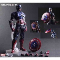 Captain America Play Arts Kai Avengers