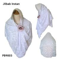 harga Jilbab Putih Instan Brokat + Free Bros Tokopedia.com