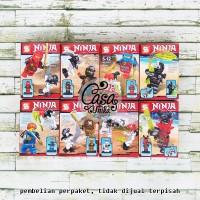 Set LEGO SY Brick - Ninjago VS Skulkin Army Minifigure Ninja SY617