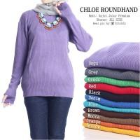 Chloe Roundhand   Rajut Murah Bandung   Grosir Baju Murah