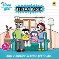 Board Book Anak Seri Cican dan Kata-Kata Ajaib: Terima Kasih