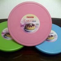 Meja putar Decor Cake Tray Rotary Tempat Penyaji Kue Cake meja hias