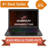 ASUS ROG GL753VD-GC146T - Core i7-7700HQ - GTX1050 4GB Laptop Gaming
