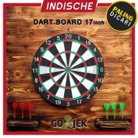 Jual [SPESIALIS] DARTBOARD / DART GAME / PAPAN DART / ASLI PALING BESAR Murah