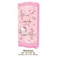 harga Lemari Pakaian Anak 2 Pt Karakter Hello Kitty Magnolia WDKT 2180 ML Tokopedia.com