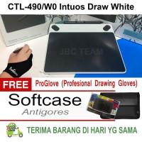 harga Wacom Intuos Draw Ctl-490 Free Gloves,antigores&softcase Tokopedia.com