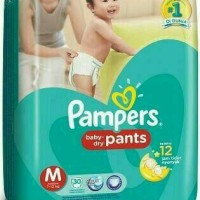 harga Pampers baby Dry Pants / Pampers / Pampers M30 / L26 / XL 22 Tokopedia.com