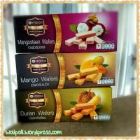 Vfoods Snack Durian Wafers Thailand Mangosteen Manggis Manga Thai