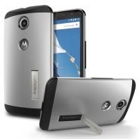 harga Sgp Slim Armor Case For Motorola Nexus 6 Silver Tokopedia.com