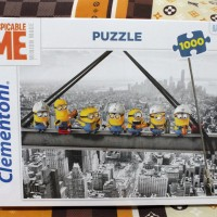 Jual Jigsaw Puzzle Clementoni: Minion Black and White - 1000 pieces Murah