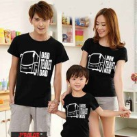 Jual Kaos Family Couple/ Baju Pasangan Keluarga 1 anak Bus Telolet 10583 Murah