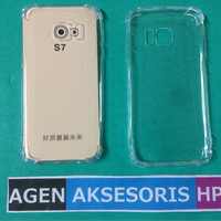 Case ANTI CRACK Samsung S7 Flat G920 Softcase Ultra Clear ANTI SHOCK
