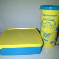 Tupperware happy days - blue (1 set)