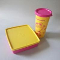 Tupperware happy days - pink (1 set)