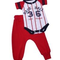XBEF, pakaian setelan bayi,bahan lembut,distro TDLR Cuteswear, 36 Ball