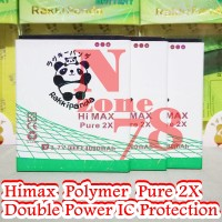 Baterai Himax Polymer Pure 2x Double Power Ic Protection
