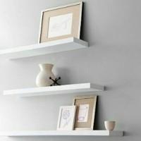 PROMO cuci gudang/3pcs Rak dinding minimalis /floating shelves/ambalan