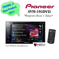 Pioneer AVH-195DVD Tape Mobil AVH195DVD Double Din AVH 195 DVD Audio