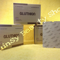 GLUTHION kapsul whitening / pemutih aman REGISTRASI BPOM