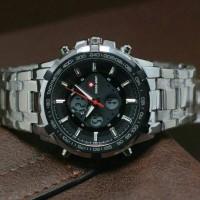 harga Jam Swiss Army Style Lasebo Dualtime Silver Black Super Premium Tokopedia.com