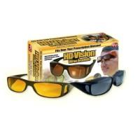 Kacamata HD Vision Wrap Around Isi 2 Pcs