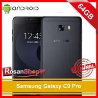 Samsung Galaxy C9 Pro 64gb Ram 6gb Black - Hitam - Original 100% Bnib