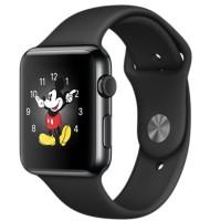 Apple Watch 2 - Series 1 Sportband - 42m (Black)
