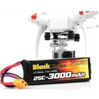 Drone Black Magic Battery LiPo for DJI Phantom CX-20 11.1V 3000mah 25C