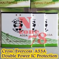 Baterai Cross Evercoss A33A Rakkipanda Double Power